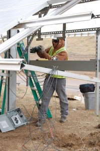Electrical work on NW Parkway system